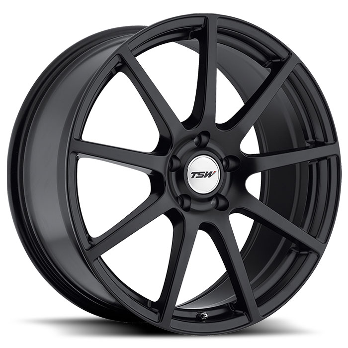 Interlagos Matt Black